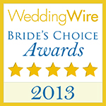 Wedding Wire's Bride's Choice Award 2013